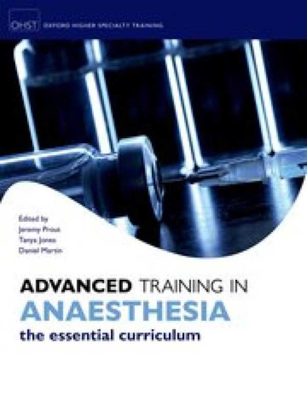 ADVANCED TRAINING IN ANAESTHESIA THE ESSENTIAL CUR