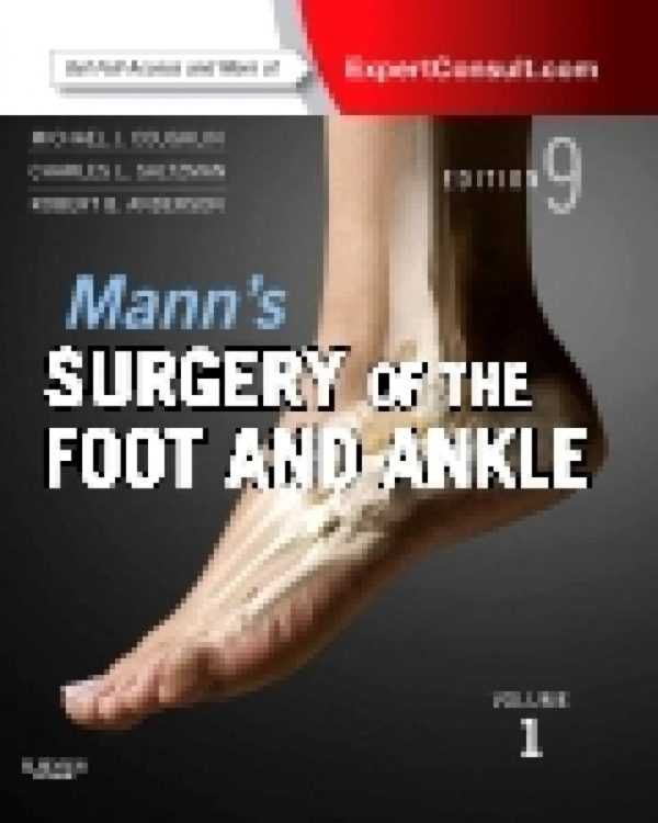 MANN'S SURGERY OF THE FOOT & ANKLE 2Vols.