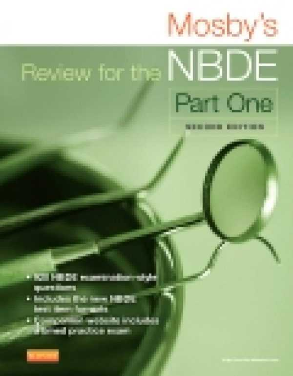 MOSBY�S REVIEW FOR THE NBDE PART 1