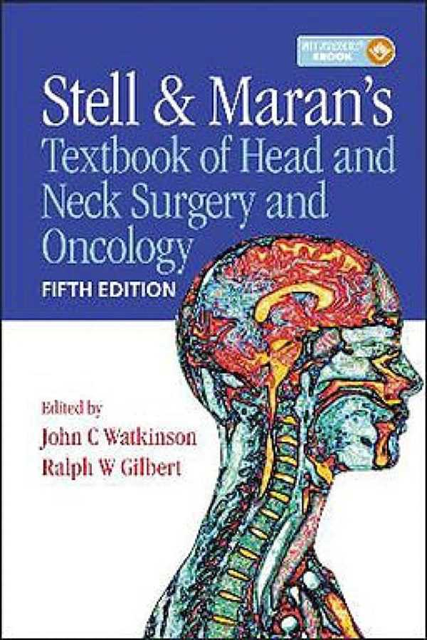 TEXTBOOK OF HEAD AND NECK SURGERY AND ONCOLOGY