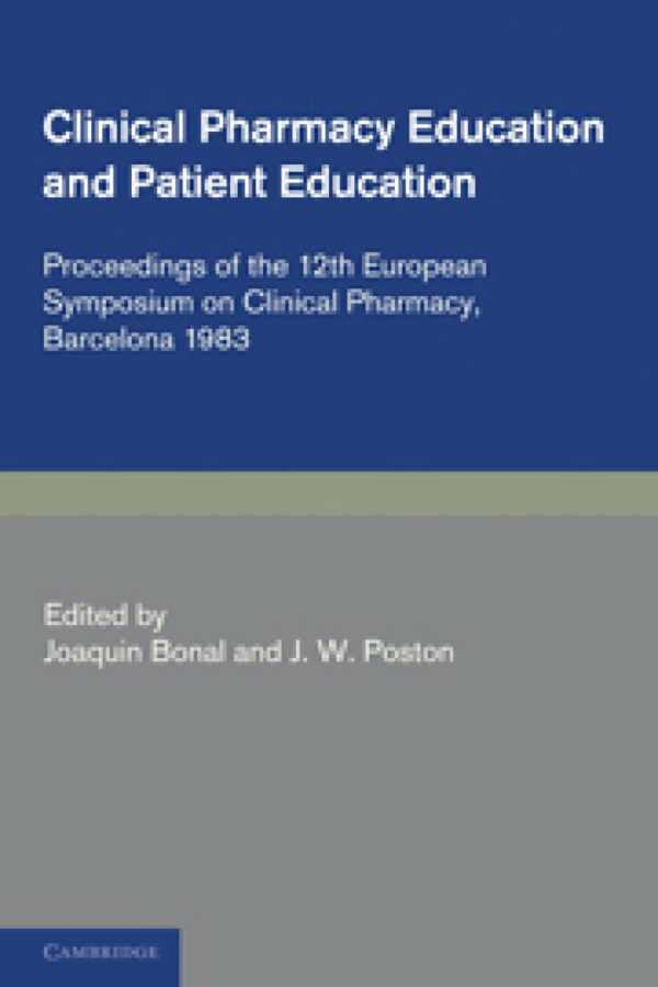 CLINICAL PHARMACOLOGY AND PATIENT EDUCATION