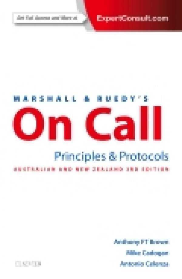 MARSHALL & RUEDY'S ON CALL PRINCIPLES & PROTOCOLS