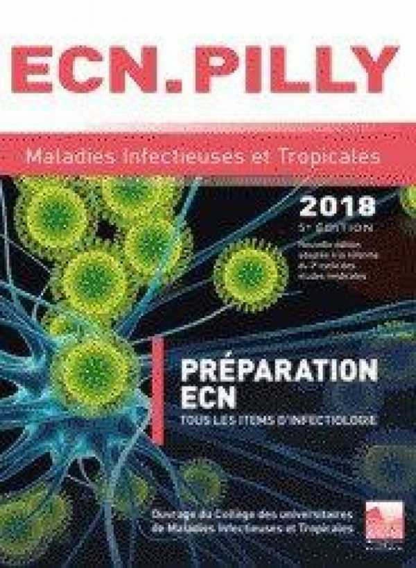 ECN PILLY MALADIES INFECTIEUSES ET TROPICALES 2018