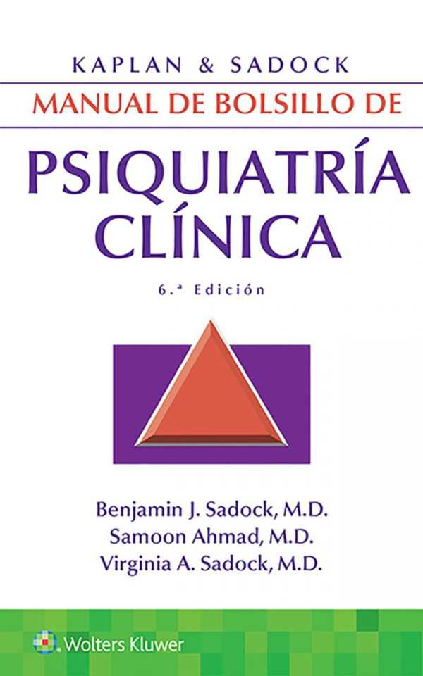 MANUAL DE BOLSILLO DE PSIQUIATRIA CLINICA