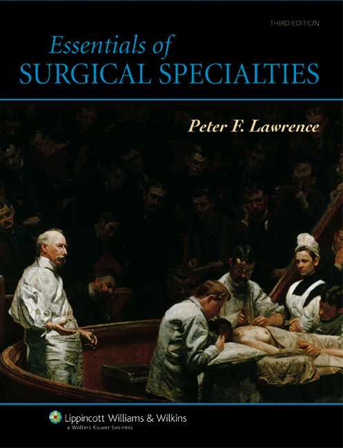 Essentials of Surgical Specialties