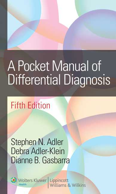 A Pocket Manual of Differential Diagnosis