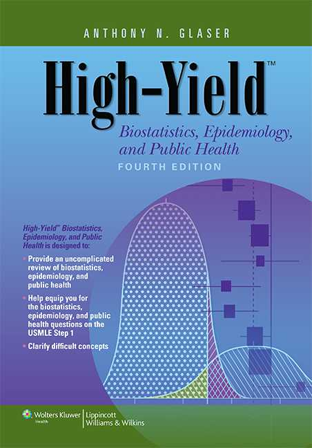 High-Yield Biostatistics, Epidemiology, and Public Health