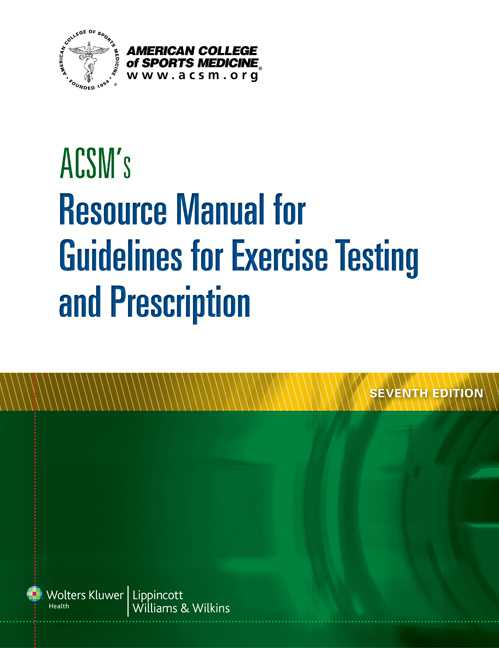 ACSM 7e Resource Manual; plus Brody 3e Text Package