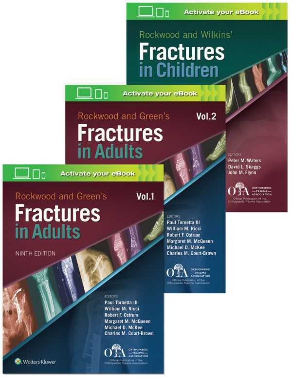 Rockwood 9e Fractures Package